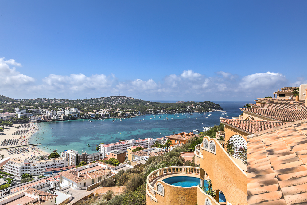 Penthouses in Santa Ponsa with sea views